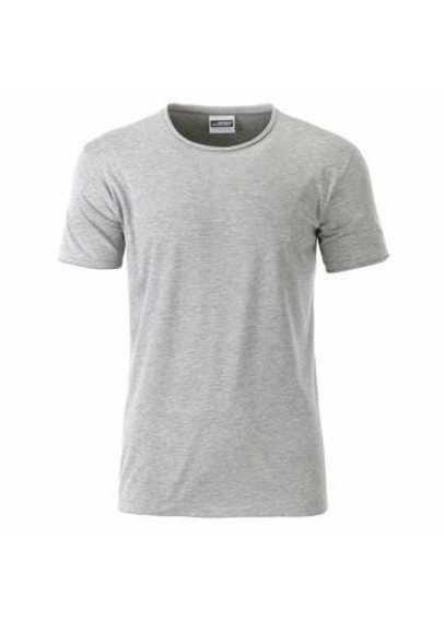 Tee-shirt Ourlet Bio Gris chiné
