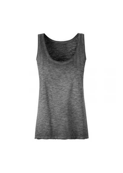 Tee-shirt bio Femme graphite