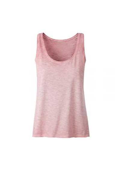 Tee-shirt bio Femme rose pastel