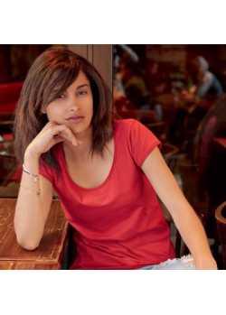 Tee-shirt bio Femme Rouge