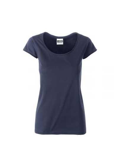 Tee-shirt bio Femme Marine