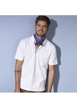 Polo fashion Homme blanc