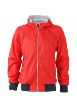 Veste sport Homme Vintage rouge clair/marine