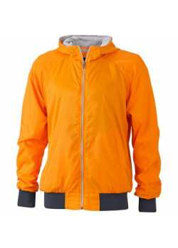 Veste sport Homme Vintage Orange / marine