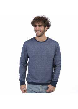 Sweat-shirt Bio Galapagos Bleu